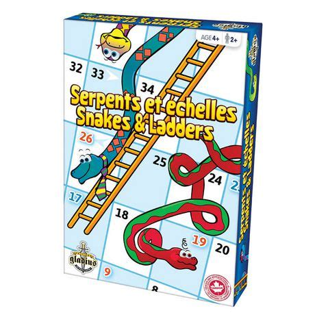 free printable snakes and ladders game for kids craft